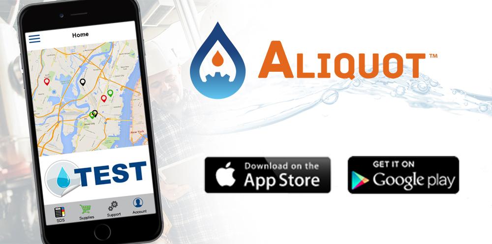 Aliquot download buttons