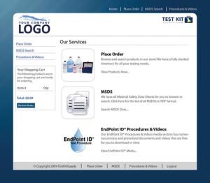 Custom eCommerce Site