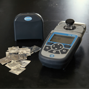 hack handheld dr900 colorimeter