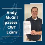 aquaphoenix scientific team member passes cwt exam